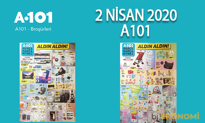 A101 2 – 9 Nisan 2020 Aktüel Ürünler Kataloğu