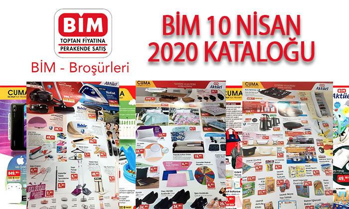 BİM 10 Nisan 2020 Aktüel Ürünler Kataloğu