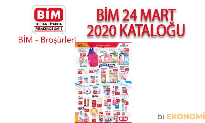 BİM 24 Mart 2020 Aktüel Ürünler Kataloğu