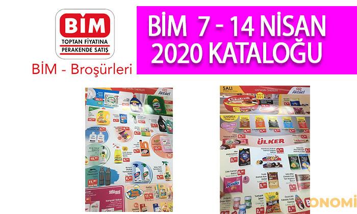BİM 7 Nisan 2020 Aktüel Ürünler Kataloğu