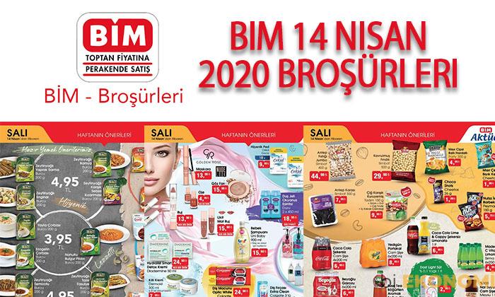 BİM 14 Nisan 2020 Aktüel Ürünler Kataloğu