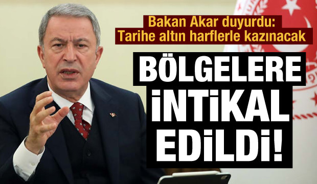 Bakan Akar açıkladı: 41 terörist öldürüldü