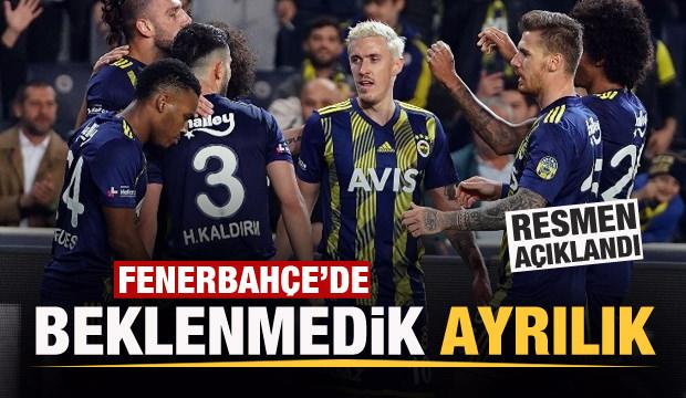 Fenerbahçe'de flaş ayrılık! Sözleşmesini feshetti