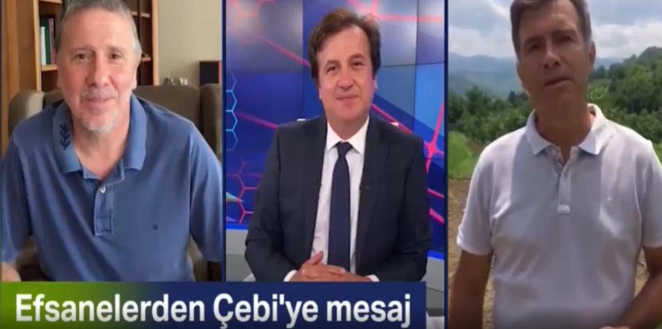 Metin Tekin, Ali Gültiken ve Feyyaz Uçar'dan Ahmet Nur Çebi'ye Sürpriz: Başkanın Gözleri Doldu