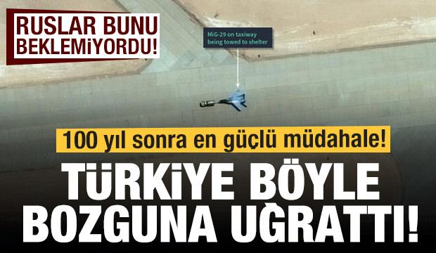Son dakika haberi: Türkiye bozguna uğrattı! Ruslar savaş uçaklarını kaçırdı