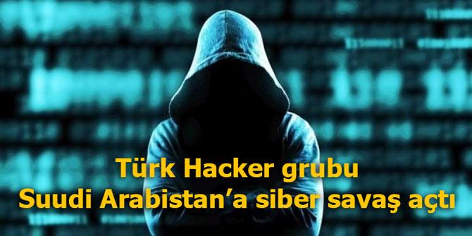 Turkz Hacker grubu Suudi Arabistan'a siber savaş açtı