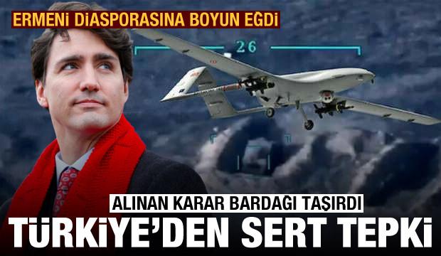 Alınan karar bardağı taşırdı! Türkiye'den Kanada'ya çok sert tepki