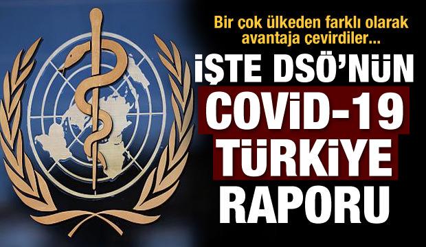 DSÖ'den Türkiye'ye Covid-19 raporu