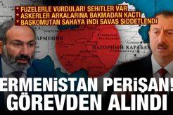 Ermenistan perişan: Görevden alındı! Başkomutan Aliyev'den sürpriz görüntü