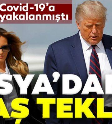 Trump'ın Covid-19 testi pozitif çıkmıştı! Rusya'dan Trump'a flaş teklif: Yardıma hazırız