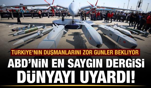Türk drone'larına hayran kaldılar!