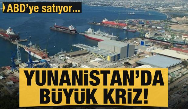 Yunan ekonomisi çöküşte: ikinci stratejik limanını satıyor