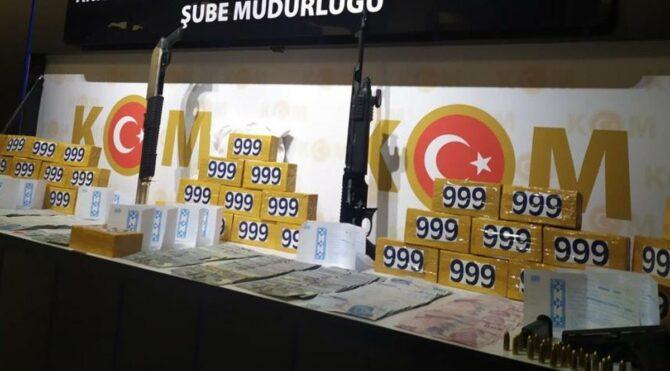 Ankara'da ele geçirildi! Piyasa değeri 210 milyon lira