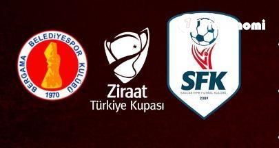 Bergama Belediyespor, Ziraat Türkiye Kupasında turladı