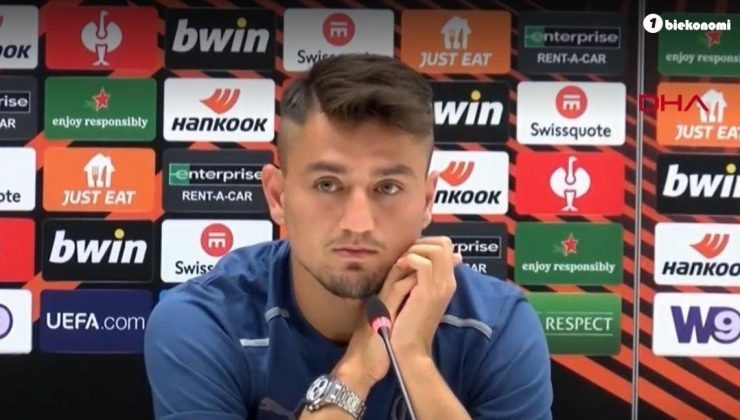 Cengiz Ünder: Galatasaray maçına çok iyi hazırlandık