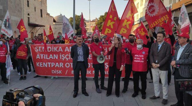 DİSK Başkanı Çerkezoğlu: Yasaları yok saymayın