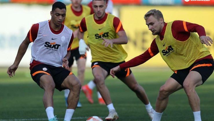 Galatasaray, Marsilya maçı hazırlıklarını tamamladı