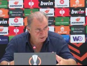 Galatasaray Teknik Direktörü Fatih Terim?in Marsilya maçı sonrası açıklamaları