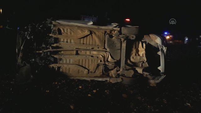 GAZİANTEP – MHP Araban İlçe Başkanı Gör, trafik kazasında hayatını kaybetti