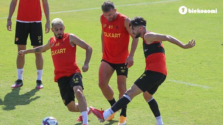 Göztepe, Giresunspor maçının hazırlıklarına devam etti