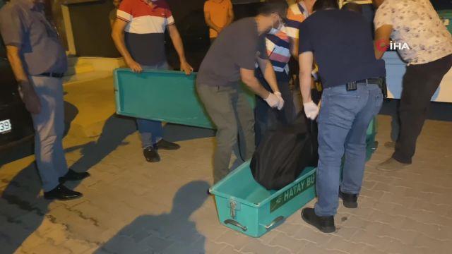 İskenderun'da evde ölü bulunan anne ve 2 çocuğunun cesedi morga kaldırdı