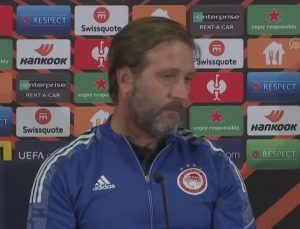 İSTANBUL – Fenerbahçe-Olympiakos maçının ardından – Pedro Martins