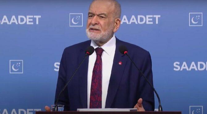 Karamollaoğlu: Amerika'da 'dostum' dediğinize İstanbul'da 'küstüm' dersiniz