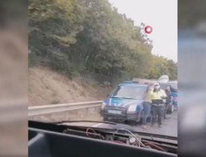 Kırklareli'nde 2 kamyon ve 2 otomobilin karıştığı zincirleme trafik kazası: 1 ölü, 5 yaralı