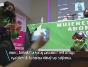 Kürtaj Hapı Dağıtan Robot Meksika'da Kullanımda