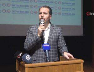 Memur-Sen Genel Başkanı Ali Yalçın, Batman'da İl Divan Toplantısı düzenledi