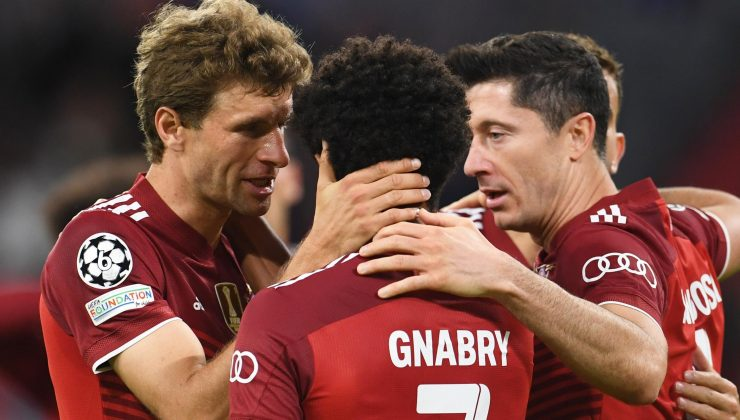 (ÖZET) Bayern Münih-Dinamo Kiev maç sonucu: 5-0