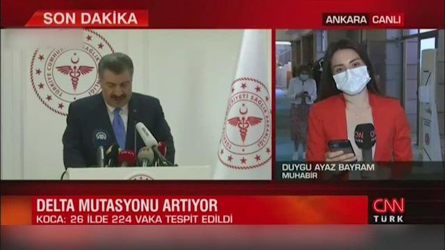 Sağlık Bakanı Koca'dan delta varyantı açıklaması