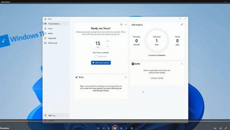 Windows 11'in Yeni Medya Oynatıcısını 'Yanlışlıkla' Gösterdi