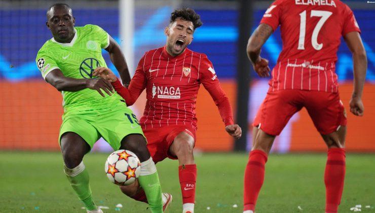 Wolfsburg-Sevilla maç sonucu: 1-1