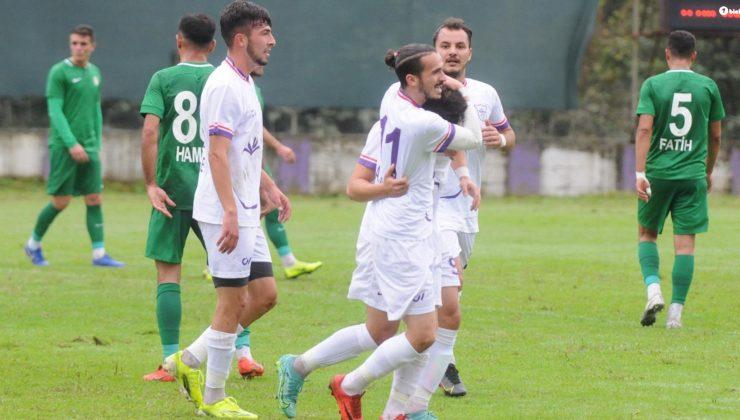 Yomraspor-Malatya Yeşilyurt Belediyespor maç sonucu: 4-0