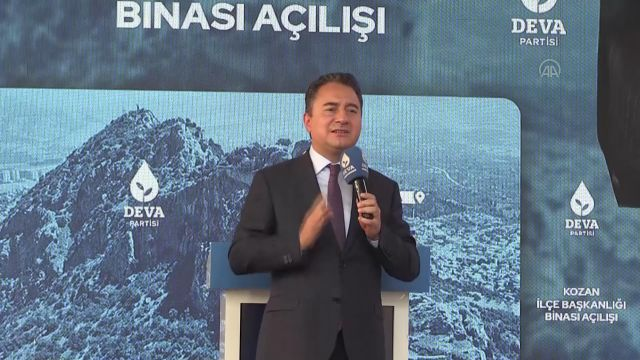 ADANA – DEVA Partisi Genel Başkanı Babacan, yerli gübre sanayinde atılım yapacaklarını söyledi