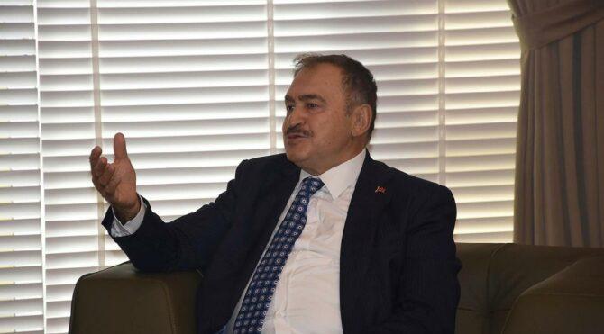 AKP'li Eroğlu: Türkiye'nin cürmü yüzde 1