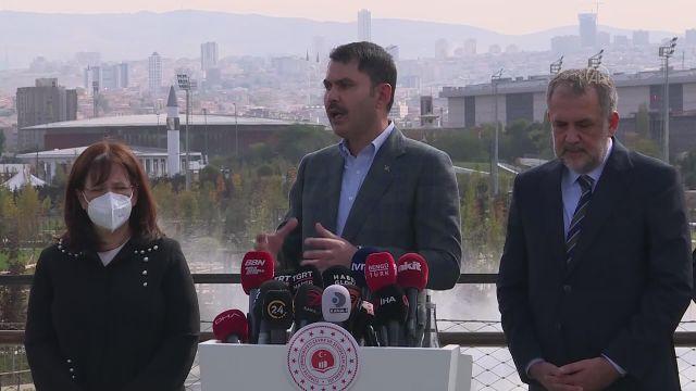 """ANKARA – Kurum: """"Ankara özelinde toplamda 21 millet bahçesi yapıyoruz"""""""