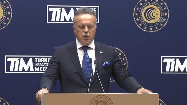 """ANKARA – TİM Başkanı Gülle: """"İhracatçılarımız müsterih olsunlar, mallarına güvensinler"""""""