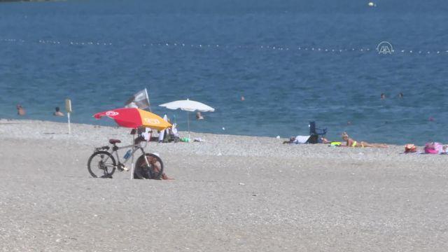 ANTALYA – Ekim ayında deniz ve güneş keyfi