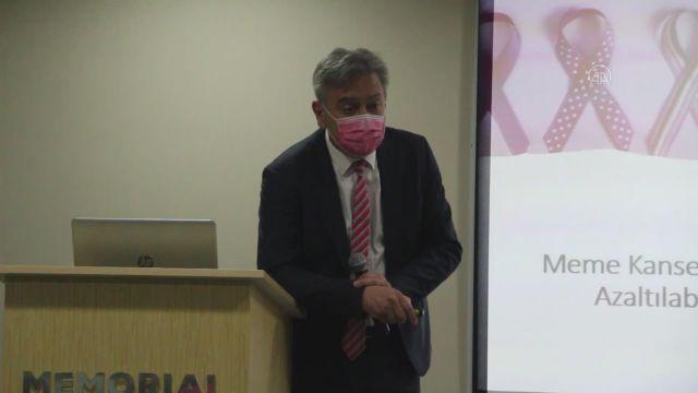 """ANTALYA – Prof. Dr Özdoğan: """"Meme kanseri kontrollerine Kovid-19 salgını engel olmamalı"""""""