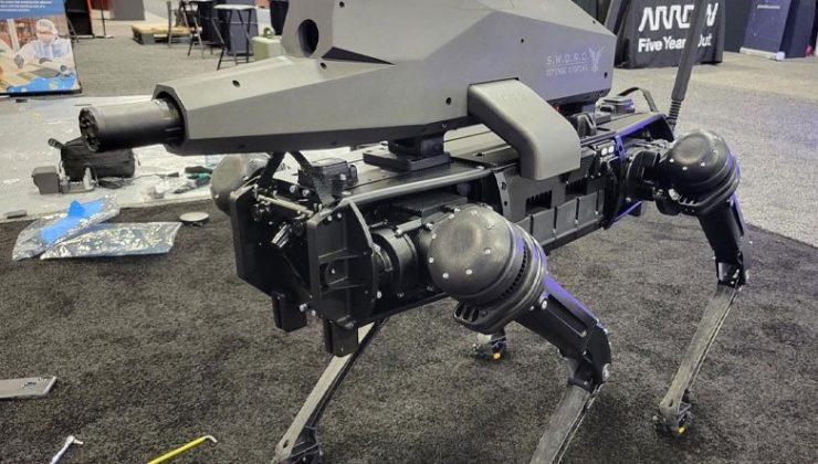 Artık O Kadar da Tatlı Değiller: Robot Köpeklere Keskin Nişancı Tüfeği Yerleştirildi