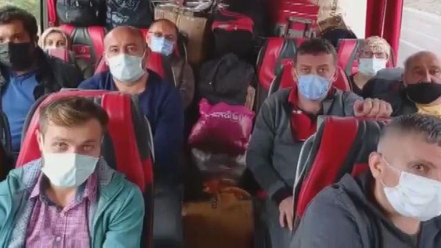 BARTIN – Koridoru kestane çuvallarıyla dolu seyahat eden otobüs firmasına para cezası