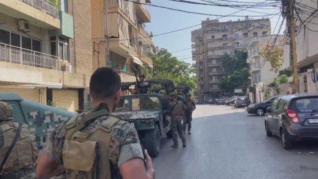 BEYRUT – Lübnan'da Şii Emel Hareketi ve Hizbullah destekçilerine ateş açıldı: 3 ölü, 20 yaralı (4)