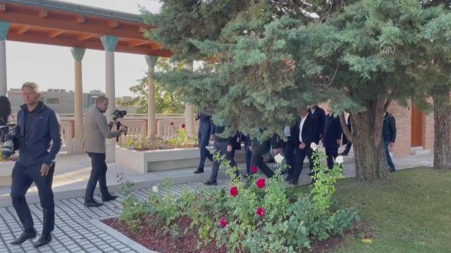 BUDAPEŞTE – Ulaştırma ve Altyapı Bakanı Karaismailoğlu ziyaretlerde bulundu