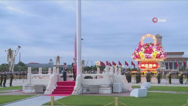 – Çin'de Ulusal Gün kapsamında Tiananmen Meydanı'nda bayrak töreni düzenlendi