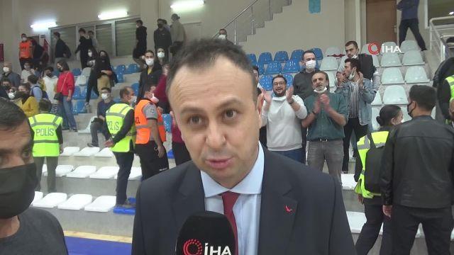"""Elazığ İl Özel İdare Başantrenörü Hakan Acer: """"Grup maçlarına galibiyetle başlamak önemliydi"""""""