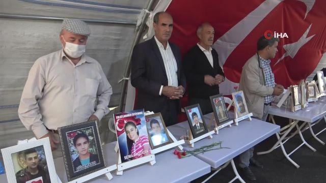 """Evlat nöbetindeki acılı baba Elhaman, """"HDP'nin yakasını bırakmayacağım"""""""