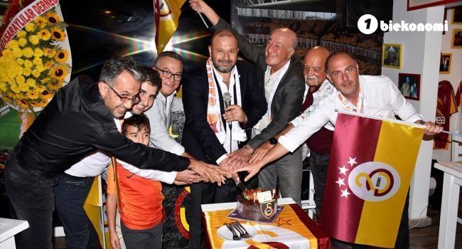 Galatasarayın 116. kuruluş yıl dönümü kutlandı
