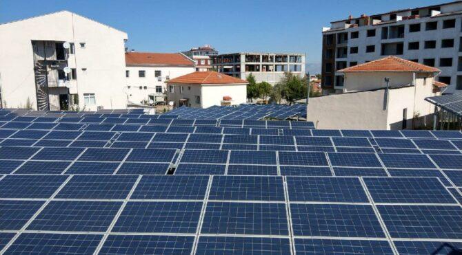 Hastanenin tüm enerjisi çatısına kurulan santralden sağlandı